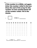 Roll Dice then multiply by 11 or 12