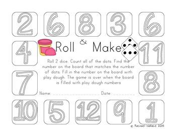 Roll & Do Math Games - Common Core Aligned!