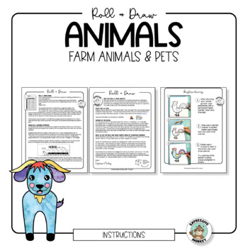 Roll & Draw Animal Collection