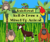 Roll & Draw a Mixed-up Animal: Rainforest Animal Adaptations