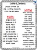 Roll Draw and Write January (Math and Literacy Program) Wh