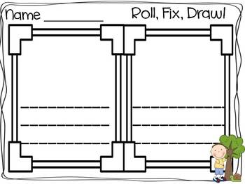 Roll, Fix, Draw: Differentiated Centers for April