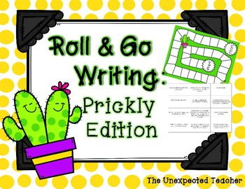 Roll & Go Writing: Prickly Edition