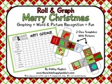 FREE Roll & Graph Merry Christmas {A Hughes Design}