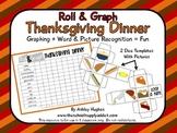 FREE Roll & Graph Thanksgiving Dinner {A Hughes Design}