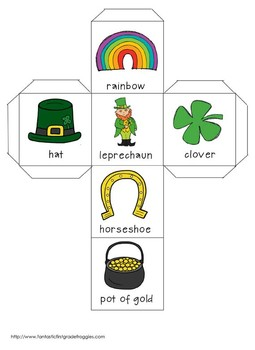 Roll, Graph and Do- St. Patrick's Day