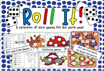 Roll It! (A selection of dice games for the year)