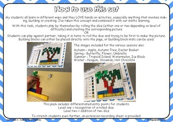 Roll It Make it STEM - Building Blocks (Seasons) AU UK version