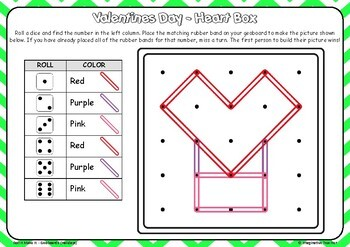 Roll It Make it STEM - Geoboards (Holidays) US version