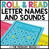 Roll and Read Letter Names and Sounds Activity