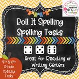 Spelling Center- Roll It Spelling Task