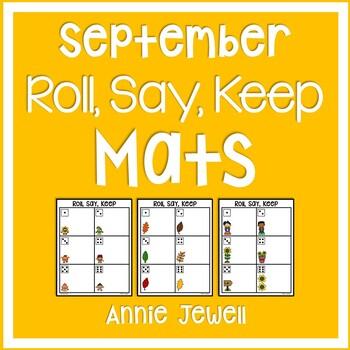 Roll, Keep, Say - September