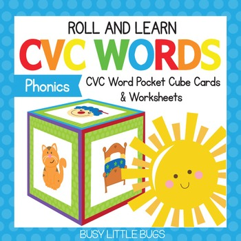 Roll & Learn - CVC Words