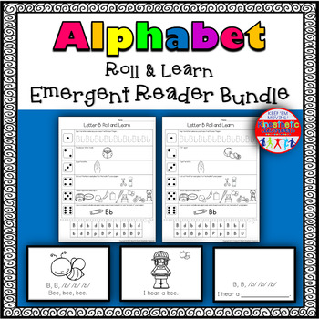 Alphabet Activities - Roll & Learn Letter Sounds with Emergent Readers