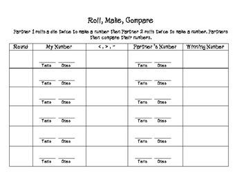 Roll Make Compare