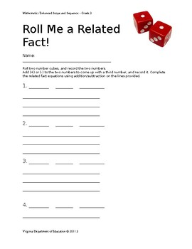 Roll Me a Related Fact