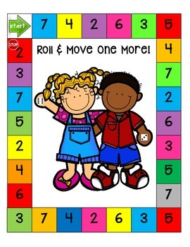 Roll & Move (one more & one less)