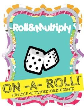 Roll & Multiply Math Activity