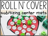 Roll N' Cover: Subitizing Center Mats
