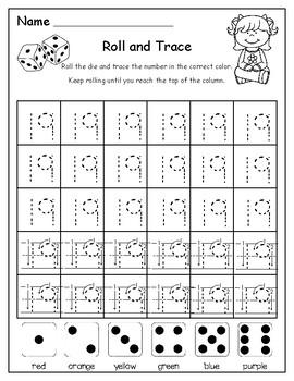 Roll-N-Trace 1-20