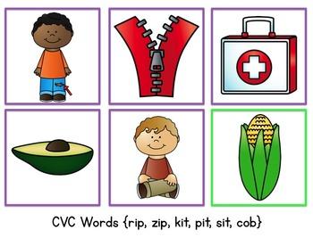 Roll-N-Write CVC Words {Editable}