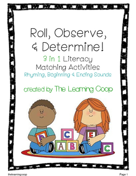 Roll, Observe, & Determine!