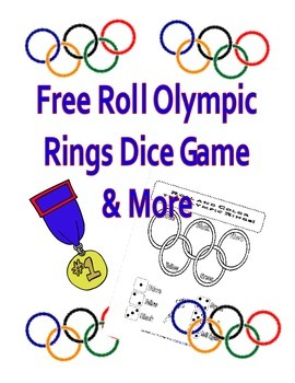 Roll Olympic Rings Dice Game - FREE