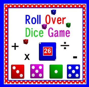 Roll Over Dice Game