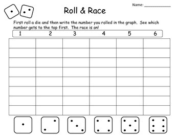 Roll & Race: Numbers 1-6