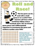 Roll & Race to 100 Game - Using a hundreds chart to add on