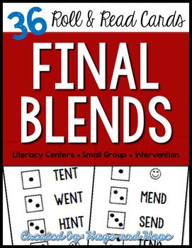 Roll & Read Cards - Final Blends