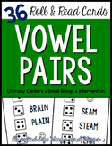 Roll & Read Cards - Vowel Pairs