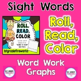 Roll, Read, Color |  90 Sight Words | First Grade