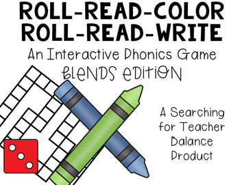 Roll Read Color and Roll Read Write: Blends Edition