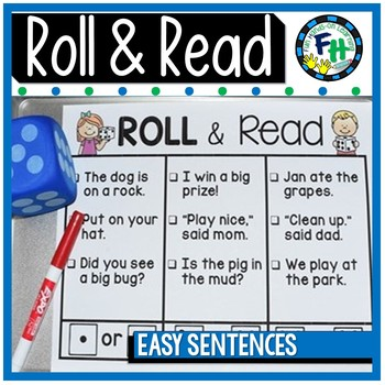 Roll & Read {Easy Sentences}