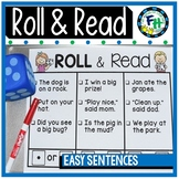 Roll & Read {Easy Sentences}