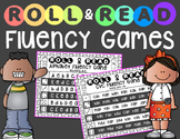 Roll & Read Fluency Games