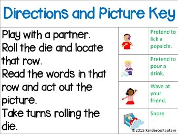 Roll, Read, Giggle & Snap Fry's First 25 words