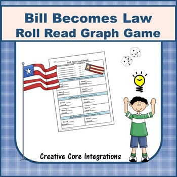 Roll Read & Graph from Bill Becomes a Law Vocabulary