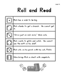 Roll & Read Harcourt Storytown 1st Grade Lessons 13-18