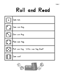 Roll & Read Harcourt Storytown 1st Grade Lessons 1-6