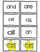 Roll, Read, & Keep- 1st Grade Dolch & High Frequency Words
