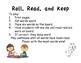 Roll Read Keep short e  ea