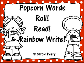 Popcorn Words Roll! Read! Rainbow Write!