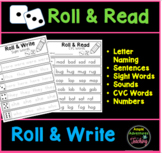 Roll & Read, Roll & Write Packet