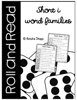 Roll & Read {Short I Word Families}