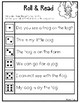 Roll & Read {Short O Word Families}