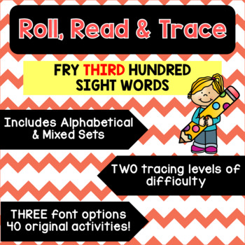 Roll, Read & Trace [Fry Third Hundred]