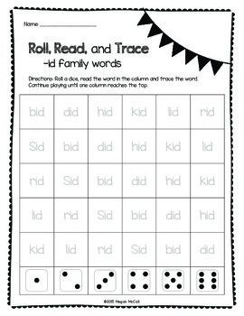 Roll, Read, Trace—Short I