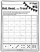Roll, Read, Trace-Sight Words (FAST 1st Grade List)